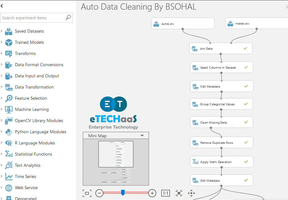 Machine Learning Azure Data Cleaning-1